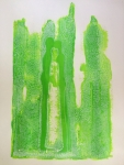 Bridget Griggs art abstract acrylic paintings Canadian artist