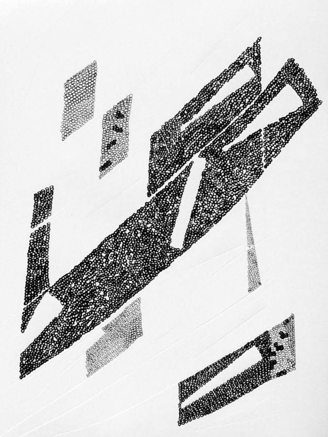 gallery art/ black and white abstract painting/ Toronto abstract artist/ Bridget Griggs/ contemporary art/ modern art/interior design/New York Art/ Los Angeles Art/ Chicago Art/UK art/paintings/ Canadian Art/